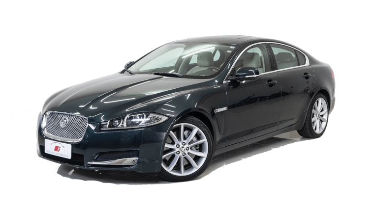 Jaguar XF Blu Scuro